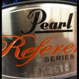 Pearl Reference snare drum single shots