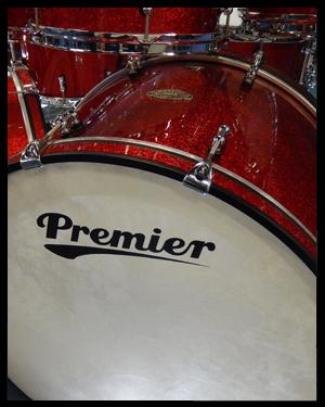 Premier Artist Birch Kit Drum Kit Samples