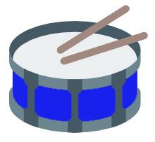 SnareDrumIcon-Blue