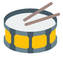SnareDrumIcon-Yellow
