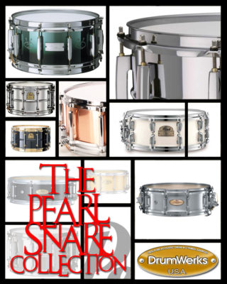 Snare drum samples from Drum Werks
