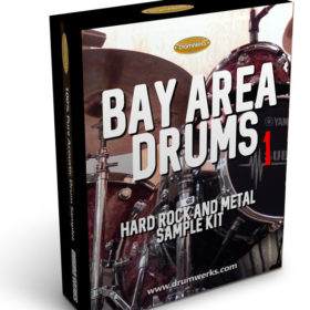 Metal Drum Samples | Bay Area 1 Complete Drum Kit, Cymbals for Modern Metal