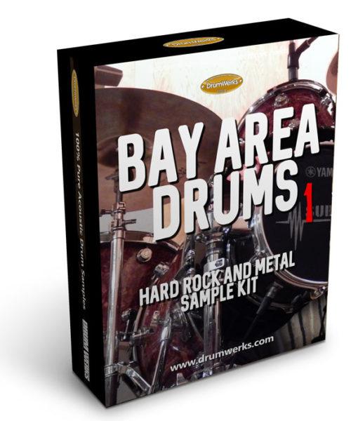 Metal Drum Samples | Bay Area 1 Complete Drum Kit, Cymbals for Modern Metal