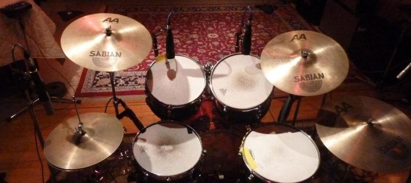 Drum Werks Drum Kit in Recording Studio