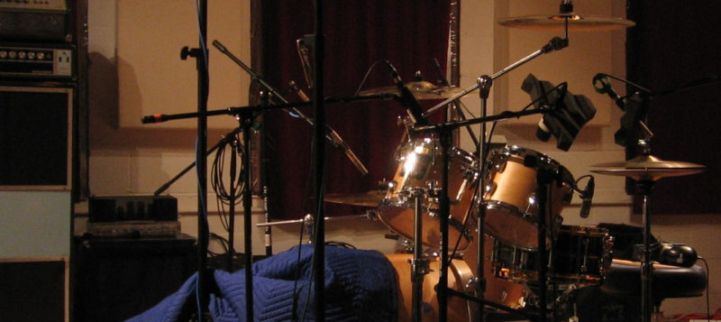Acoustic Drums - Samples Recording Session on Smith Maple Drum Kit