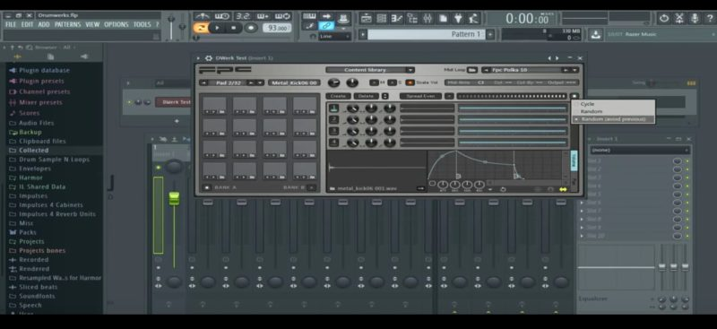 FPC - Sample Player Instrument using Drum Werks samples