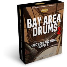 DRUM SAMPLES | BAY AREA 2 Drum Samples for Metal and Hard Rock