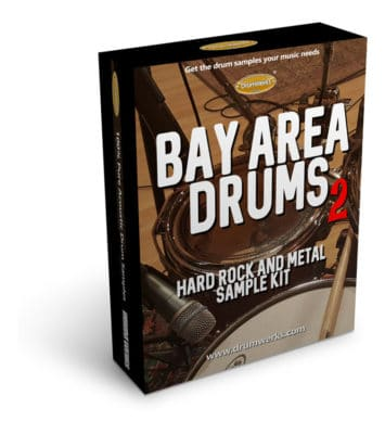 BAY AREA 2 DRUM SAMPLES | Drum Samples for Metal and Hard Rock