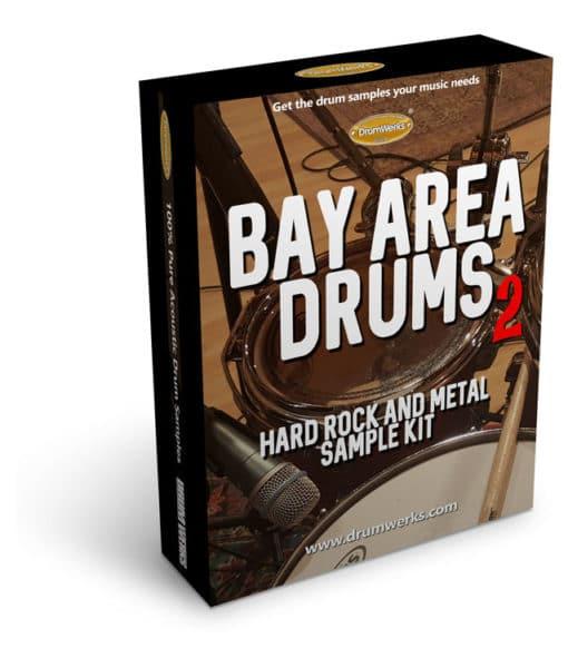 DRUM SAMPLES | BAY AREA 2 Drum Samples for Metal and Hard Rock