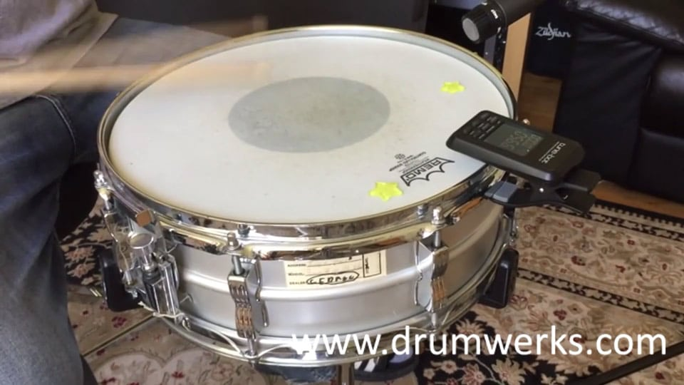 Snare Samples from Ludwig Acrolite