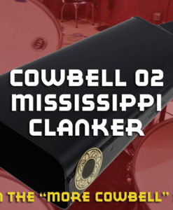 Percussion Samples -Cowbell 02 Mississippi Clanker